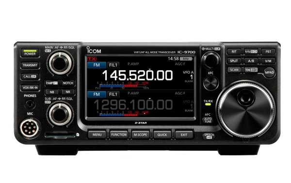 ICOM IC-9700 All Mode VHF-UHF-SHF